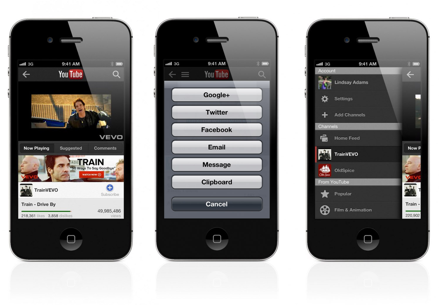 Official youtube app for iphone and ipod touch